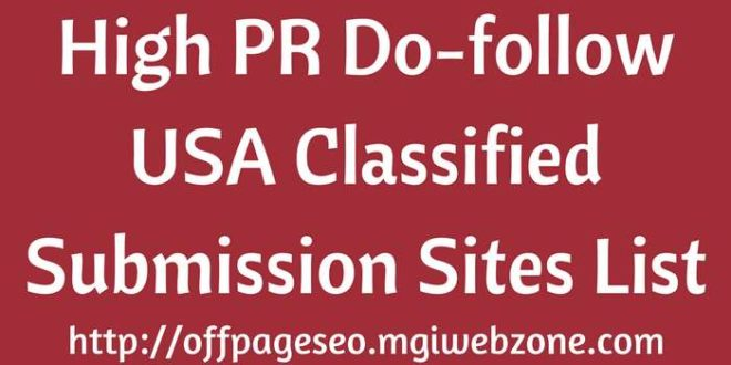 Free Classified Ad Posting Sites list Without Registration 2019