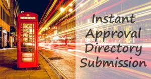 Instant Approval Directory Submission Sites List