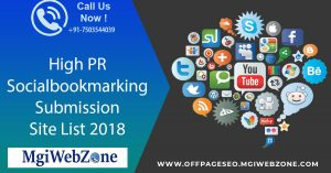 High PR Social Bookmarking Submission Sites List 2020