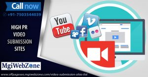 High PR Video Submission Sites 2020