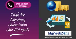 High PR Directory Submission Site List 2020