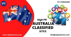 HIGH PR AUSTRALIA CLASSIFIED SUBMISSION SITES
