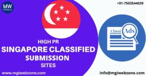 HIGH PR SINGAPORE CLASSIFIED SUBMISSION SITES