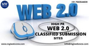 HIGH PR WEB 2.0 CLASSIFIED SUBMISSION SITES