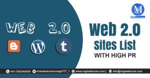Do-follow Web 2.0 Sites List with High PR