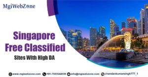 Singapore Free Classified Sites with High DA